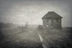 past mist...