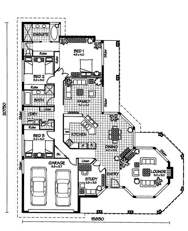 Australian House Floor Plans