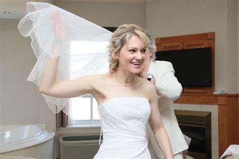 Andrea & Sheldon's spring Owen Sound Wedding at Best