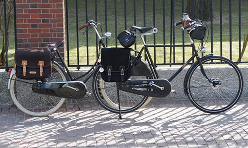 Gazelle & Pashley with Philosophy Panniers