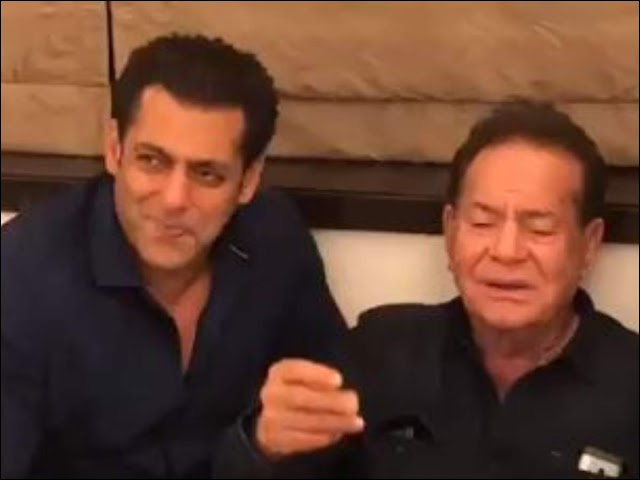 Throwback: When Salman sang with his father