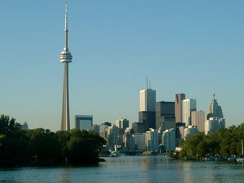 Zoom of CN Tower