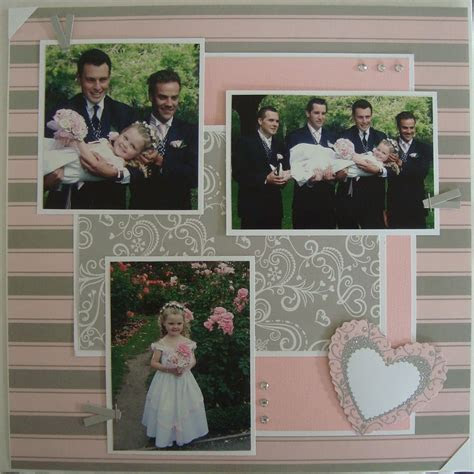 scrapbook wedding double page layouts   Card Ideas