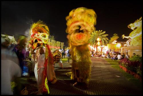 Chinese Dragons in Phuket Town