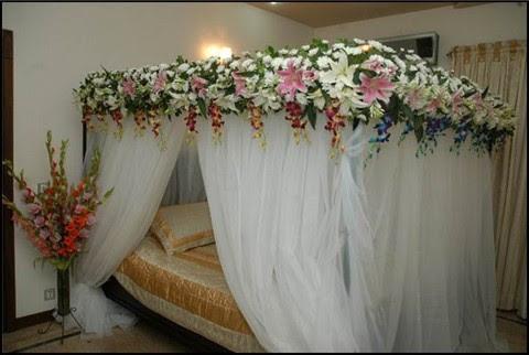 Exotic-Bedroom-Decoration-for-Wedding-Night: adnan rajpoot ...