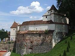 Bastionul Ţesătorilor - Weberbastei - Takácsok bástyája.JPG