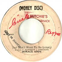 45cat Horace Andy Just Dont Want To Be Lonely Version Money