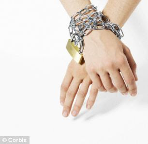 Enjoying the clink of chains in skin can be a sign that you are mentally balanced