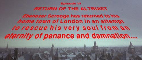 Episode VI: Return of the Altruist...