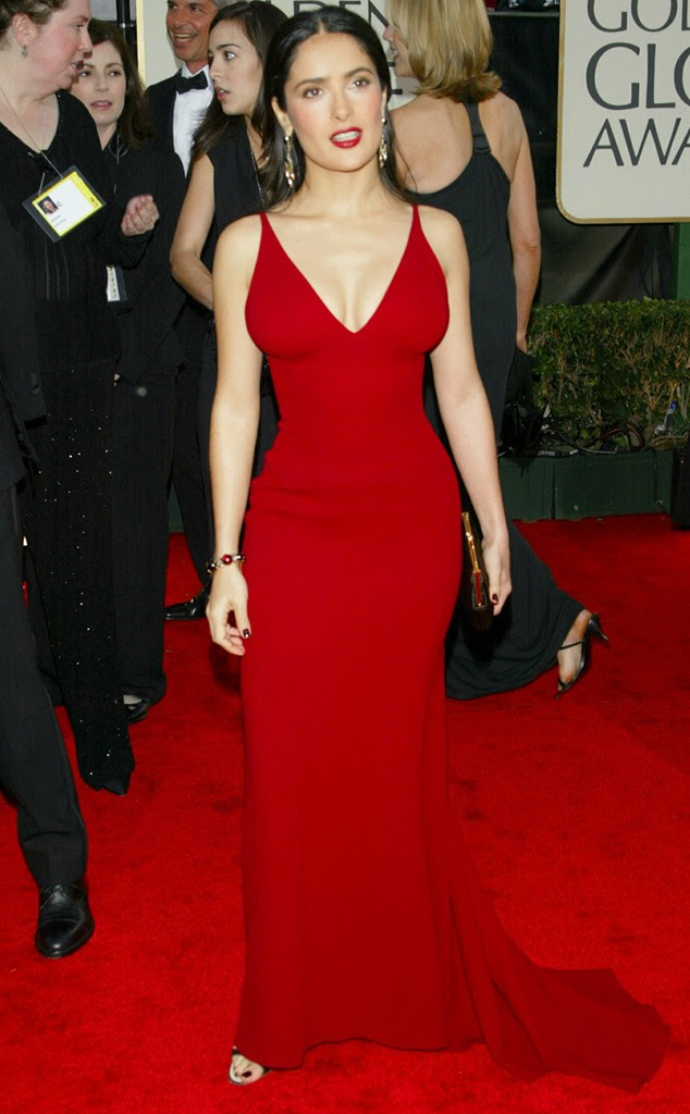 Hot Salma Hayek Pictures from 2003 Golden Globes Awards - Sexy Actress Pictures | Hot Actress Pictures