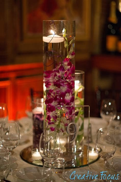 Floating candle Centerpiece   Centerpieces   Wedding