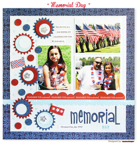 bella blvd patriotic project sheet