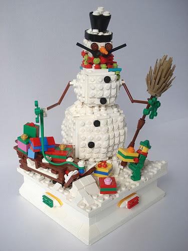 LEGO Snowman by Josip Špika