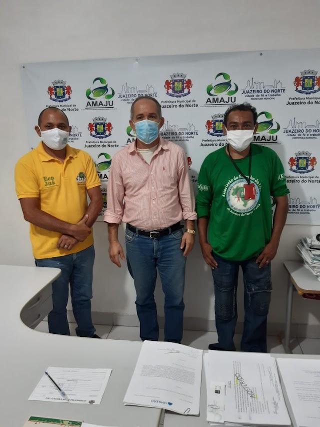 AMAJU firma parceria com a empresa Sabão Juá