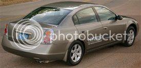 2007 Nissan Altima hybrid car