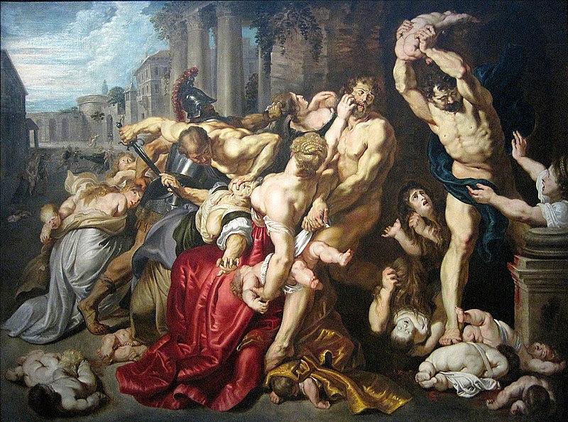 File:0 Le Massacre des Innocents d'après P.P. Rubens - Musées royaux des beaux-arts de Belgique (2).JPG