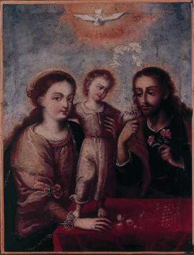 Holy Family, Quito School
