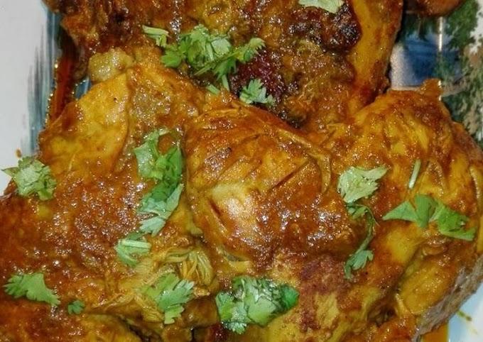 Recipe of Perfect Mughlai Chicken Roast With Tomato Gravy