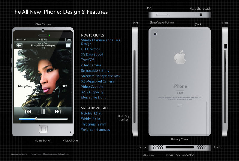 Front: iPod touch 4G on the Left, iPod touch 3G