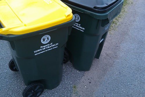 Franklin Residents: Trash and Recycling pick up schedule - one delay from Wednesday