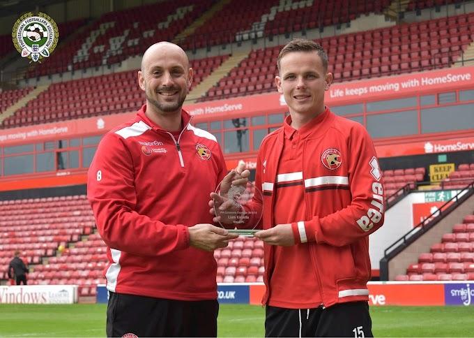 Liam Kinsella Named Walsall's PFA Community Champion