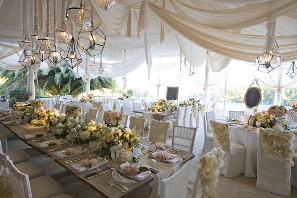 Tent Wedding Decor - Reception Decor | Wedding Planning, Ideas ...