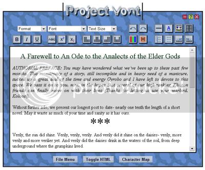 Project Vont