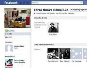 La pagina di Facebook di Forza Nuova Roma Sud