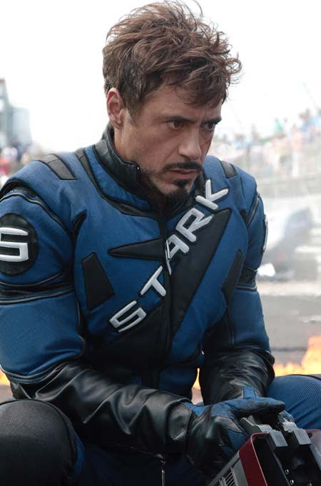 Robert Downey Jr. en Iron man 2