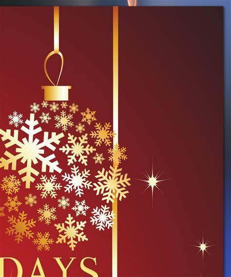 Blank Holiday Invitation Templates