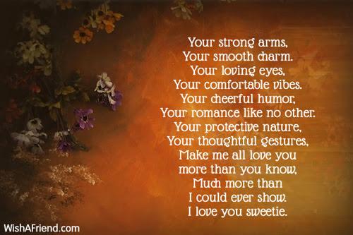 You Poem For Boyfriend