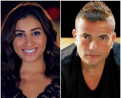 Are Amr Diab and Dina El Sherbiny Getting Married