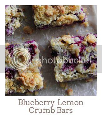 """Blueberry-Lemon Crumb Bars"""