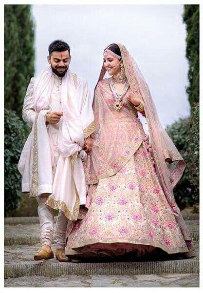 anushka sharma virat kohli wedding desi bridals