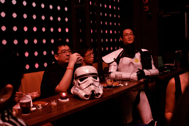 I was glad to see the Stormtrooper Gordonator again