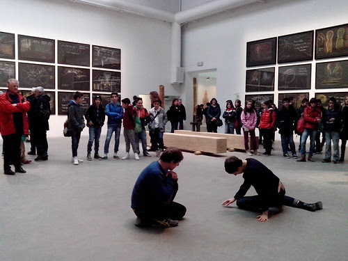 """This Progress"" dalla performance di Tino Sehgal by Ylbert Durishti"