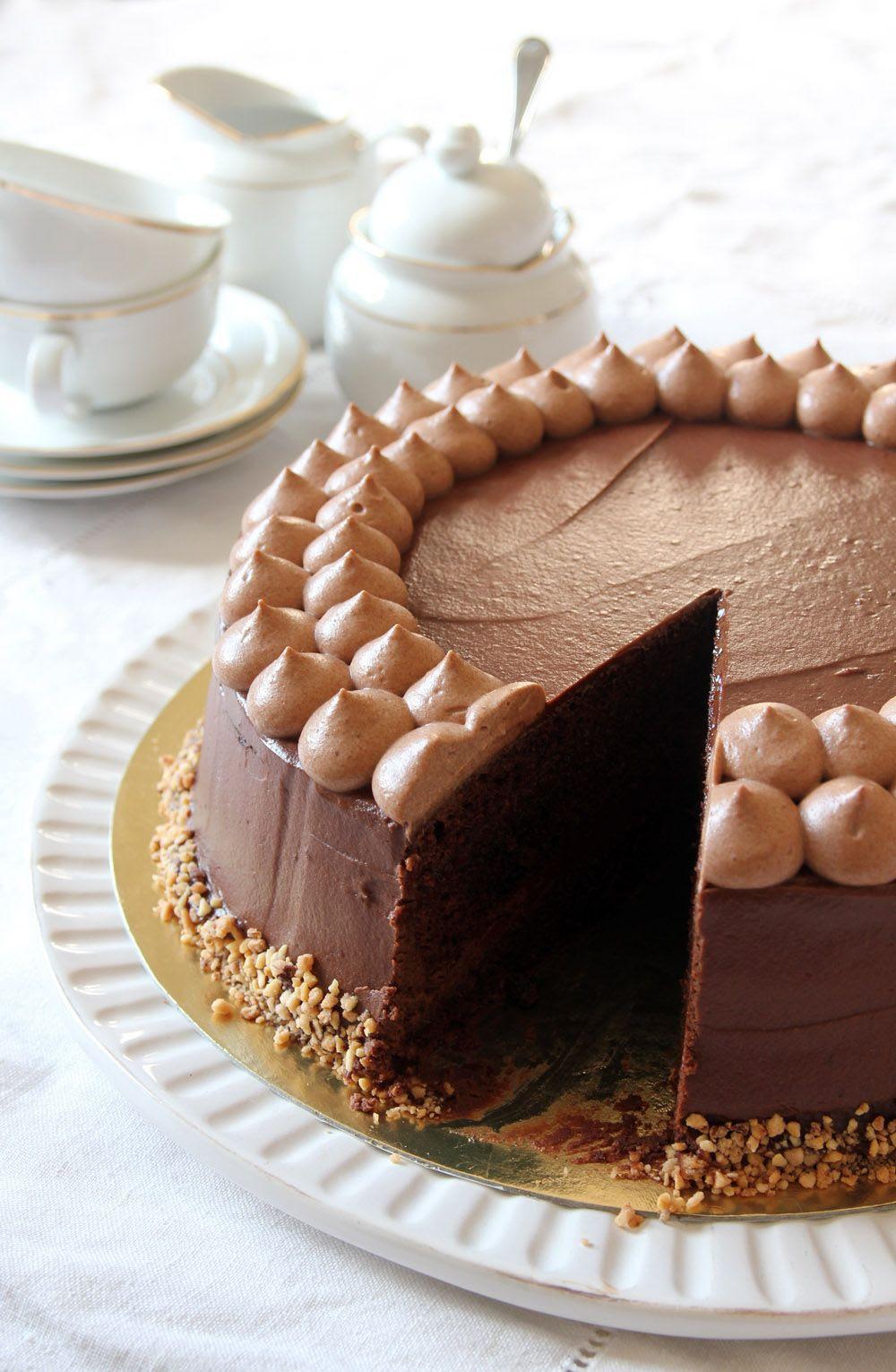 Caramel Hazelnut Chocolate Cake Lil Cookie