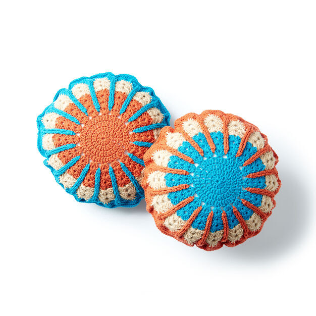 Bernat Full Circle Crochet Pillow