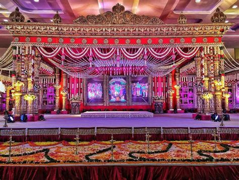 Telugu Wedding mandap   Indian Wedding Decor in 2019