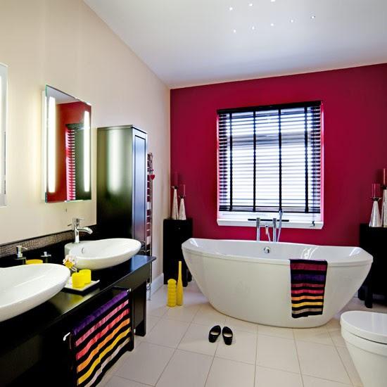 Cute towel ideas | Family bathroom ideas | housetohome.co.uk