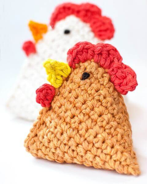 Crochet Chicken Pattern ... Little Chick Bean Bag Pattern