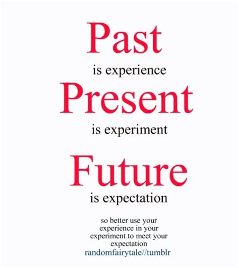Yesterday Present And Future Quotes