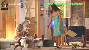 Debora Nascimento sensual na novela Flor de Caribe