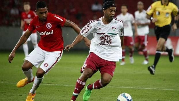 Internacional e Fluminense duelaram nesta quarta à noite no Beira-Rio