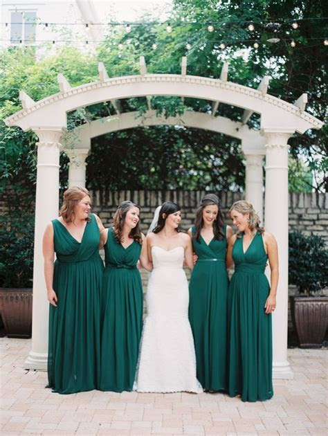 Dark Green Wedding