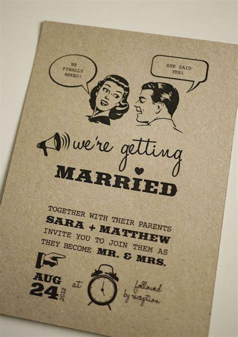 1950's Retro   Wedding Invitation (   Wedding, Kitsch and