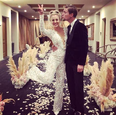 Kaley Cuoco Shares Doggone Hilarious Wedding Photo!   The