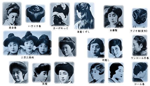 女性 江戸 髪型 時代