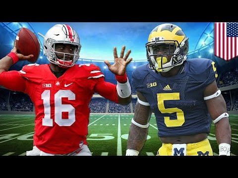 Michigan v. Ohio State - Taiwanese Animation