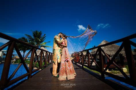 Cancun, Mexico: Destination Wedding Ceremony   Bhamini and